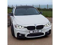 BMW 320D F30 2012 WHITE M PERFORMANCE