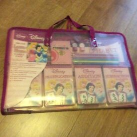 Disney Princess activity pack in a sturdy carry case