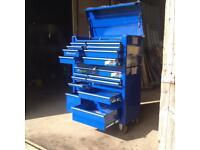 Snap-on tool storage roll cab and top box