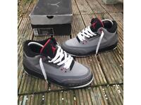 Nike air Jordan 3 trainers size 5.5