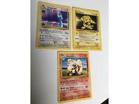 Pokemon Base Set collection / full non holo collection 17 - 102