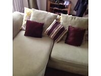 Green olive left or right corner sofa