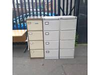 4 drawer filling cabinets £20