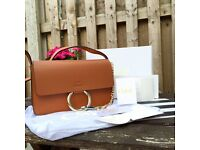 Stunning Chloe Leather Small Satchel!! *chanel Givenchy Prada Louis Vuitton *
