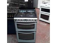 #7767 Stoves 55cm Double oven Gas Cooker (6 month warranty)