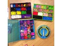 Loom band collection