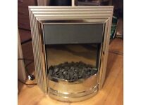 Electric fire lovely condition with 2sets of display coals