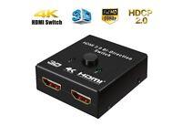 M.Way HDMI Splitter 2 in 1