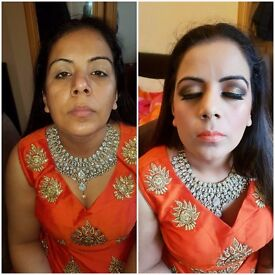qualified hair and make up artist for bridal and party looks