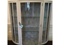 Cocktail display cabinet, hand painted