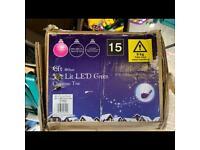 6ft pre lit LED Christmas tree.