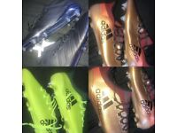 Adidas football boots size 9.5! 4 pairs 100% genuine