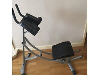 Exercise equipment AbCoaster for great Abdominals