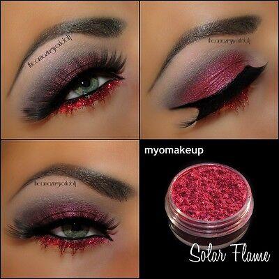 MYO Solar Flame Eyeshadow Pigment Mica Loose Powder Cosmetic Makeup 10 Gram Jar