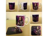 "Once Upon A Time ""Regina"" Mug & Coaster set #2"