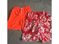 Swim shorts, age 7 & 7/8 from Next