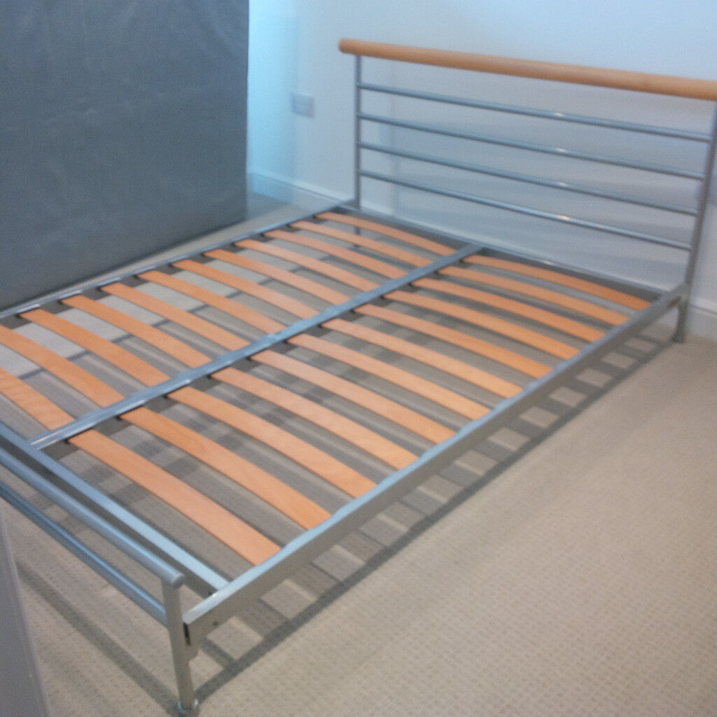 Jay Be Metal Framed Double Bed