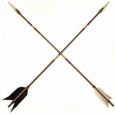 Navajo Made Painted Indian Arrow  /One Arrow