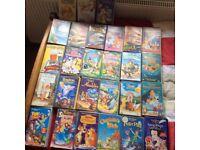 CHILDREN'S VHS VIDEOS