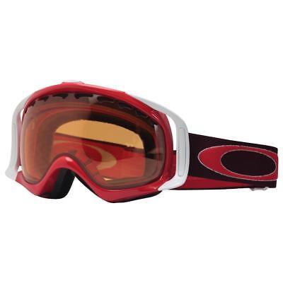 Oakley 57-796 Crowbar Rhone Red Frame w Persimmon Lens Mens Snow Ski Goggles .