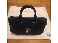 Mulberry Del Rey bag - teal blue leather, genuine, great condition