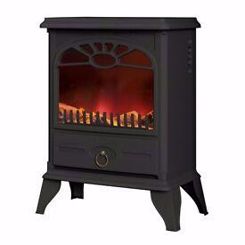brand new Warmlite WL46004 Log Effect Stove Fire, 2000 W - Black