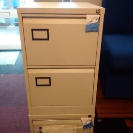 NEW Bisley 2 Drawer Filing Cabinet