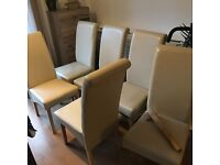 6 chairs for sale- £50
