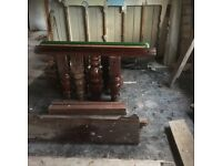 snooker table frame only