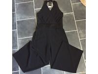 NEW black woman's jumpsuit size 16 from Next nightout , wedding wear