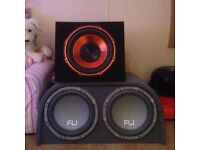 2 subwoofers for sale
