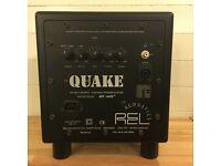 REL Acoustics Quake Subwoofer Black