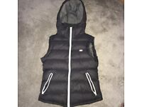 Woman's grey Jack Wills gillet, size 8.
