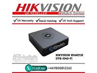 Hikvison HiWatch 4 Channel Turbo-HD TVI Cube DVR-104G-F1
