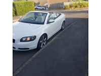 *Volvo C70 convertible 2.0D ice white*