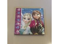 BN Unopened Frozen Napkins x 20 Disney Party