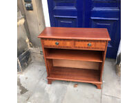 Hall Console /Bookcase ( adjustable shelves ) Size L 30in D 11in H 30in Free Local Delivery