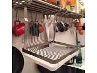 Ikea dish and cutlery hanging dryer
