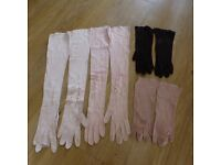 VINTAGE FRENCH SOFT GLOVES 11 pairs