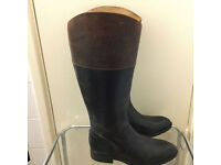 Brand new leather boots in very good condition only £35