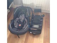 Silvercross Ventura car seat and isofix