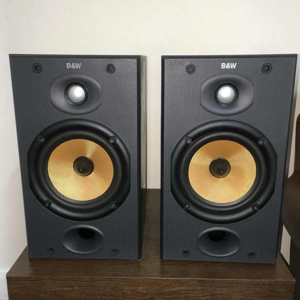en wilkins bookshelf audio and t bowers speakers bw