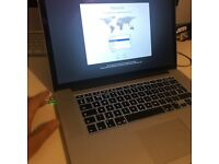 MacBook A1398 i7 2.8ghz 16gb ram