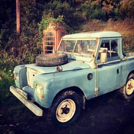 LandRover Series 3 Pickup