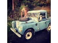 LandRover Series 3 Pickup