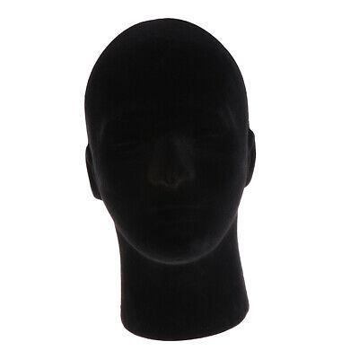 Foam Mannequin Manikin Head Dummy Stand Model Shop Glasses Displaying Black