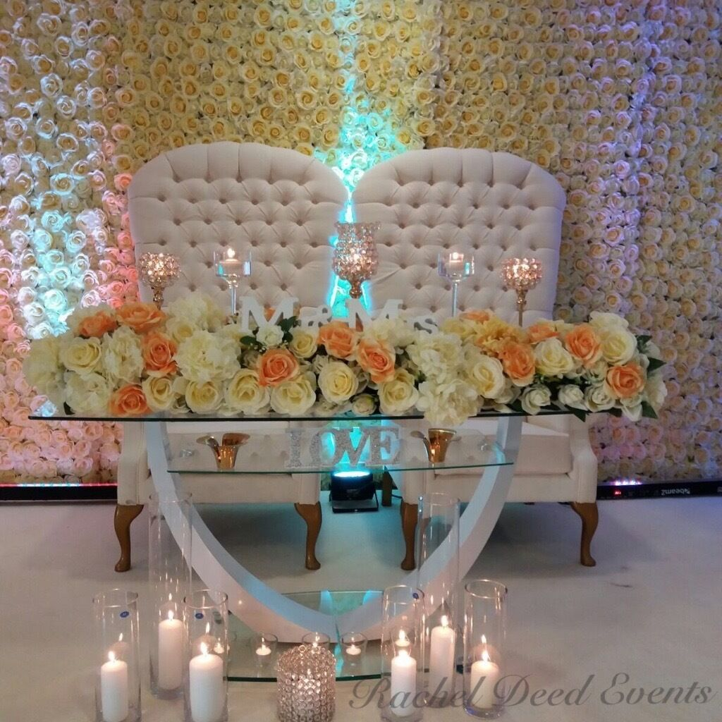 flower wall rose flower wall throne chair wedding stage kids