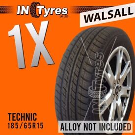 1x 185/65R15 Technic Nova Tyre 185 65 15 Fitting is Available Tyres x1 Walsall