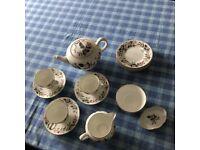 Wedgwood Hathaway Rose Bone China Tea Set