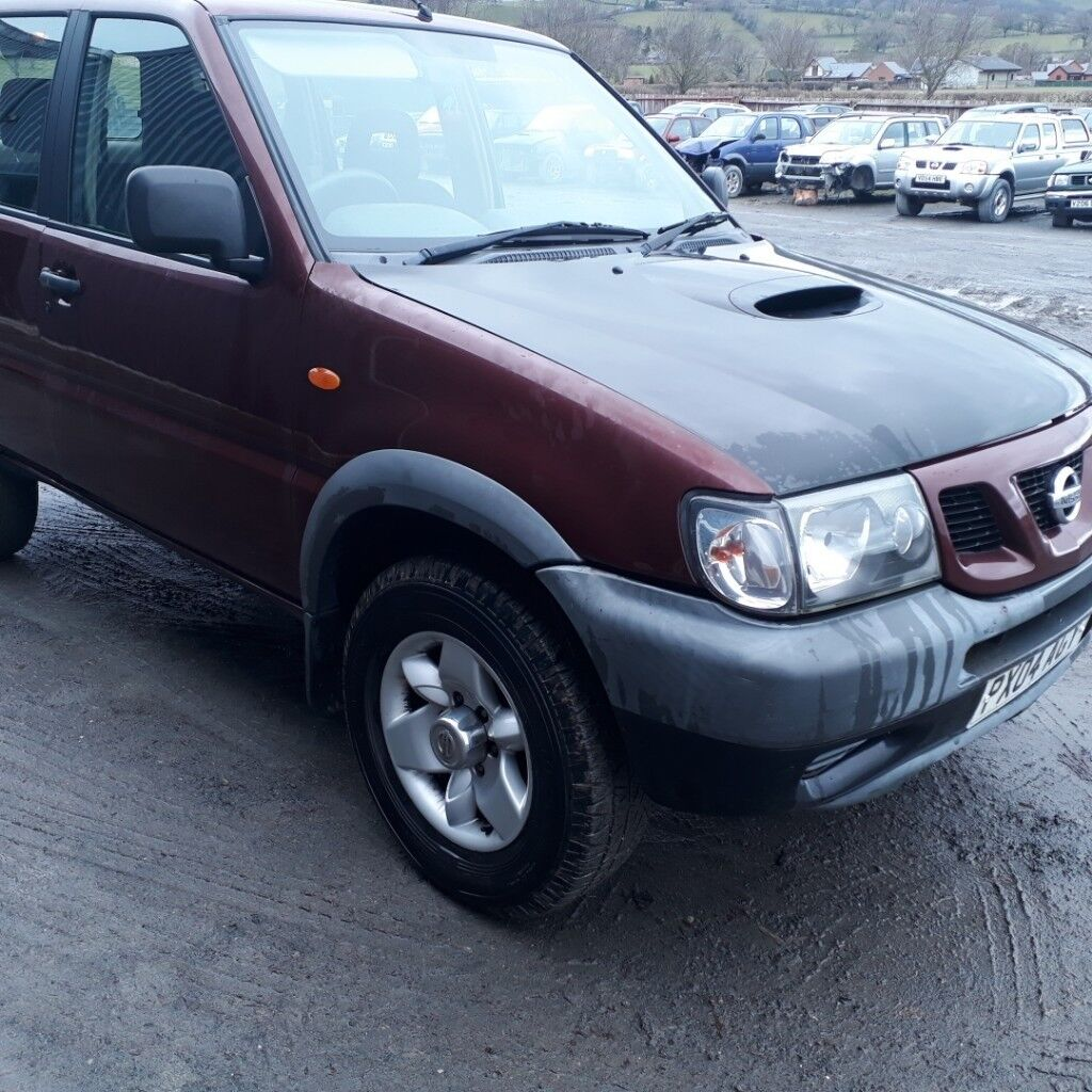 breaking red ax5 2004 nissan terrano td27 turbo diesel manual 4x4 rh gumtree com nissan terrano oem parts catalog nissan terrano owners manual